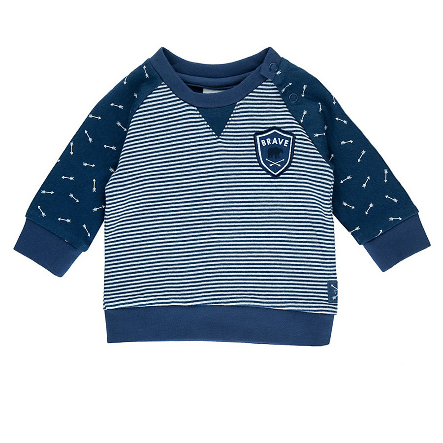 Feetje Boys Sweatshirt Arrow blau