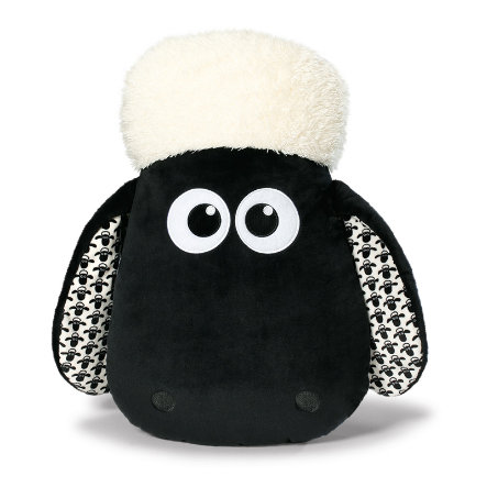NICI Shaun das Schaf: Kissen Shaun-Kopf figürlich 45 x 30 cm