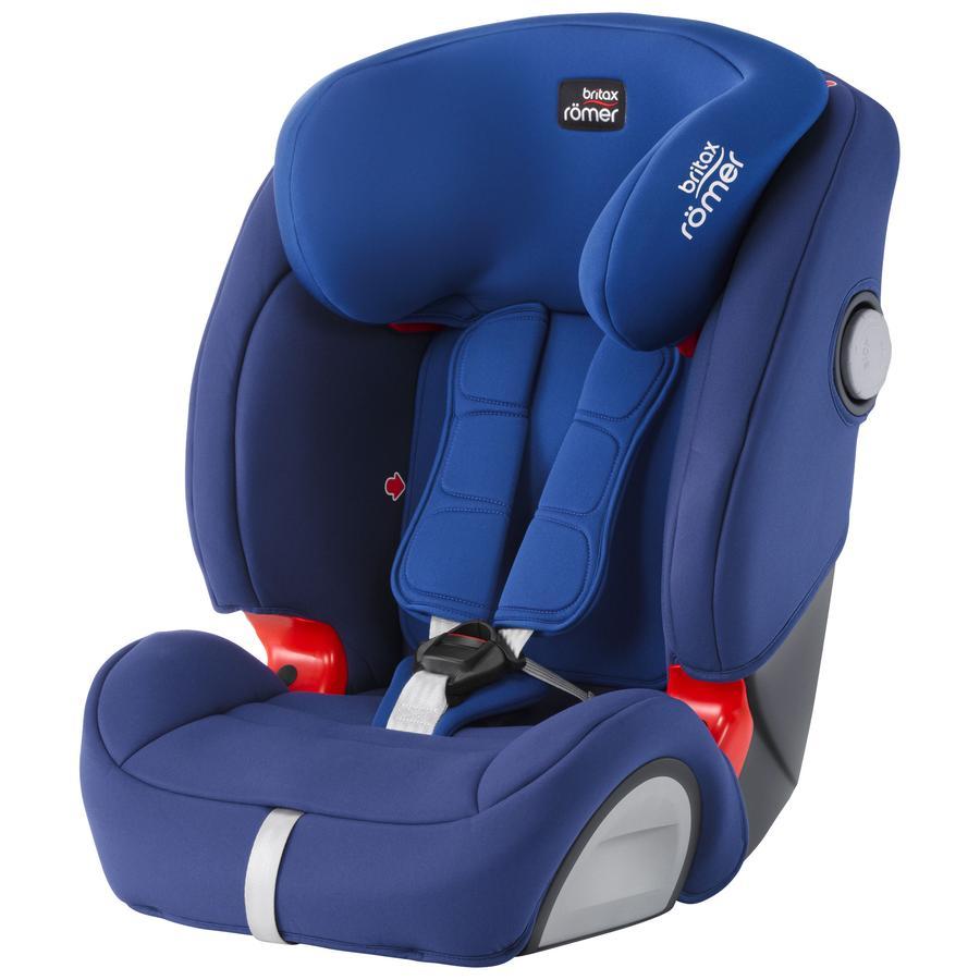 Britax r mer si ge auto evolva 1 2 3 sl sict ocean blue for Siege auto 1 2
