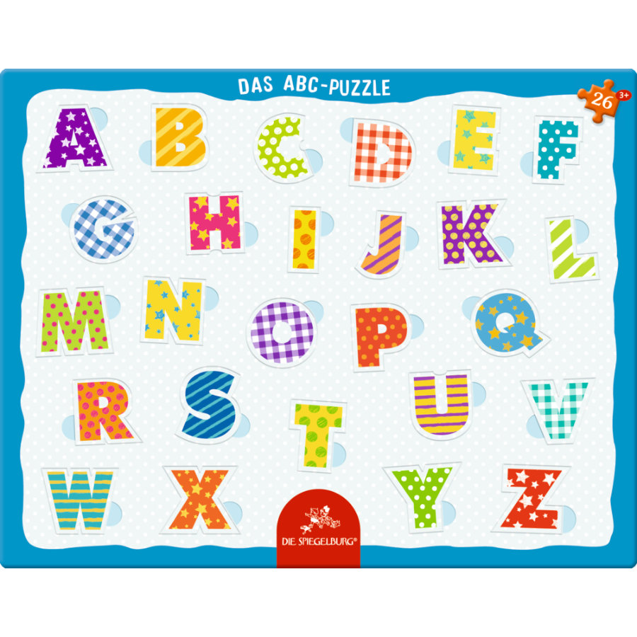 COPPENRATH Frame puzzle - ABC, 26 stykker