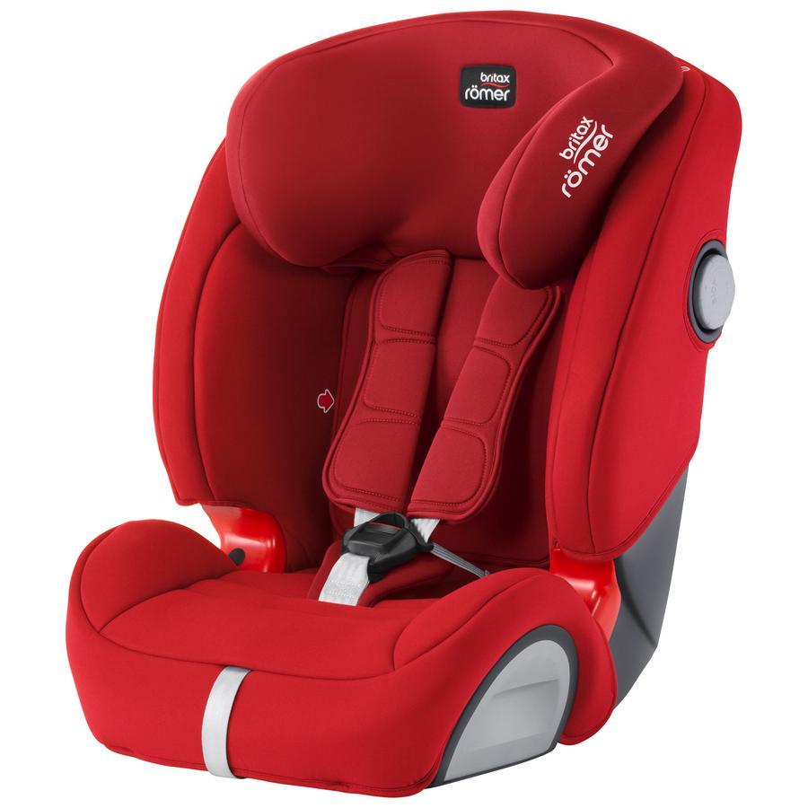 britax römer Silla de coche Evolva 123 SL SICT Flame Red