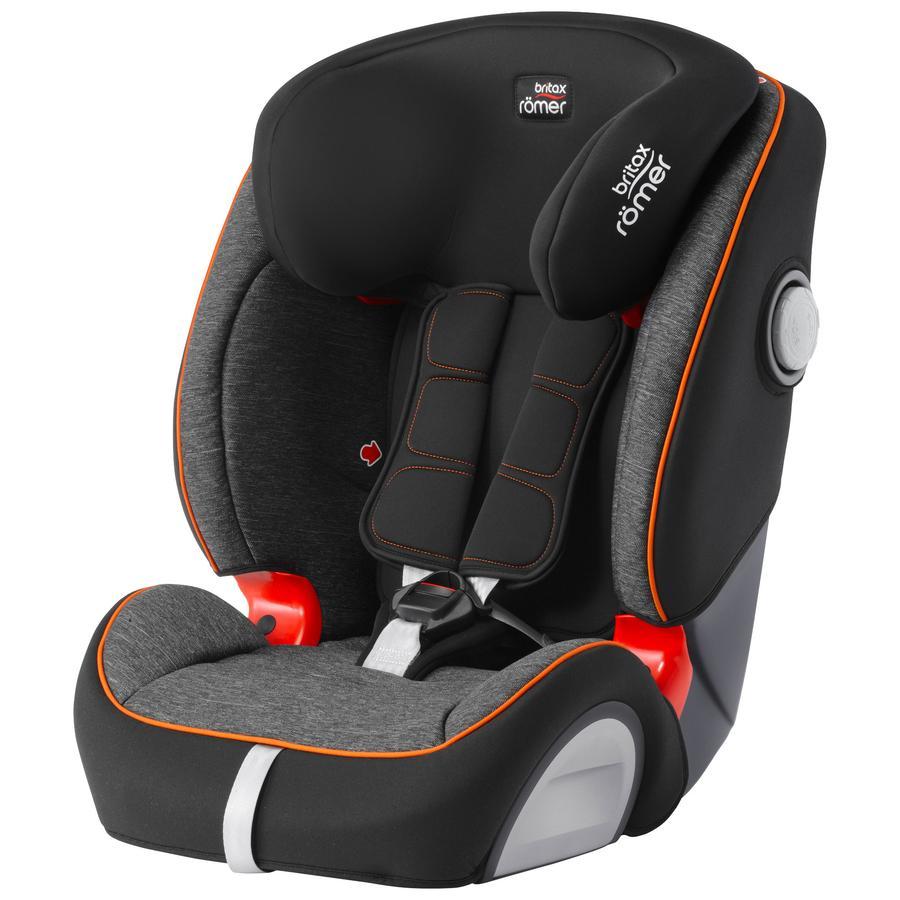 britax römer silla de coche Evolva 123 SL SICT Black Marble