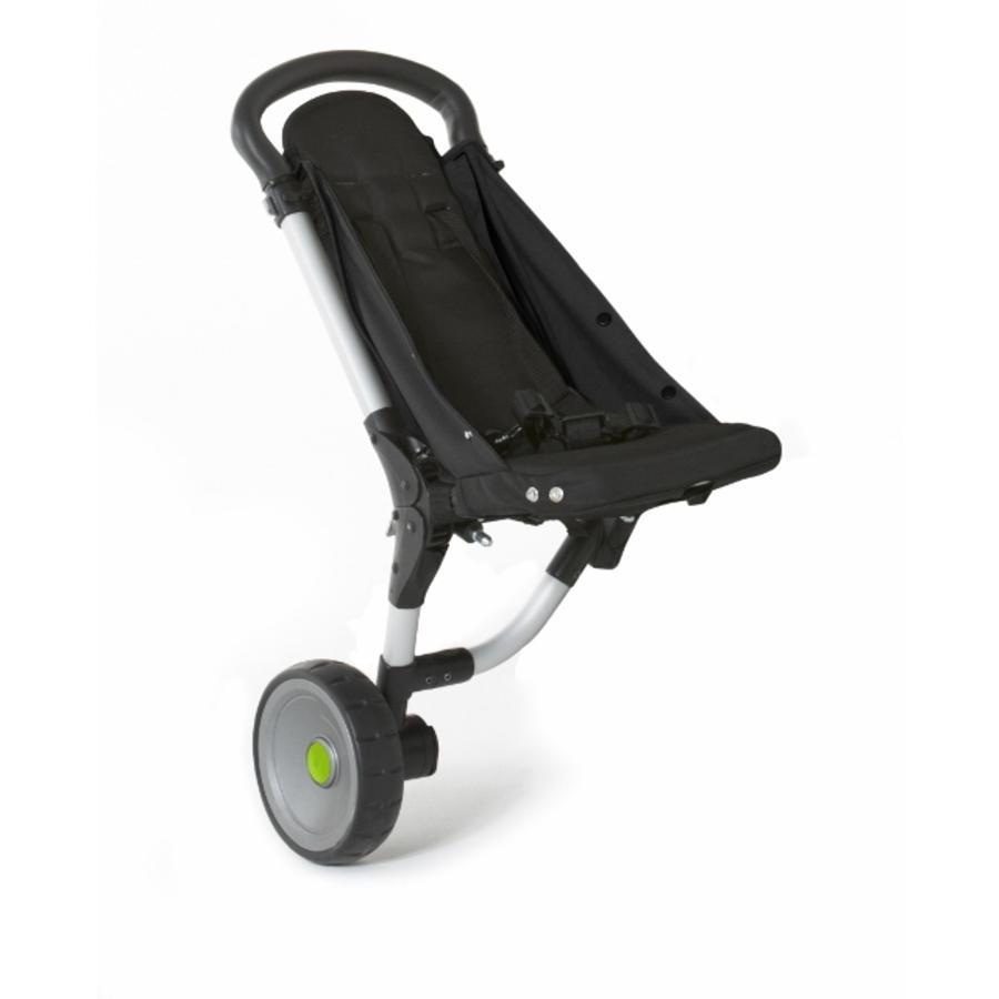 BuggyPod iO sidovagn för barnvagnar (normala chassin/ramar/ svart-jordfärgad