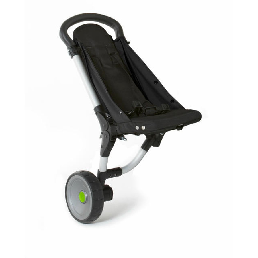 BuggyPod iO Beiwagen für normale Kinderwagengestelle mit 1 dicken Rohr schwarz 2016