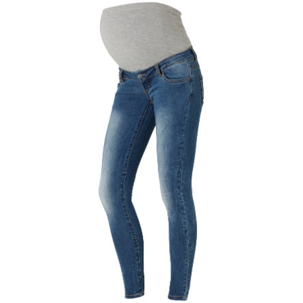 mama licious Circumstance Jeans MLNILO Slim blue Długość: 34
