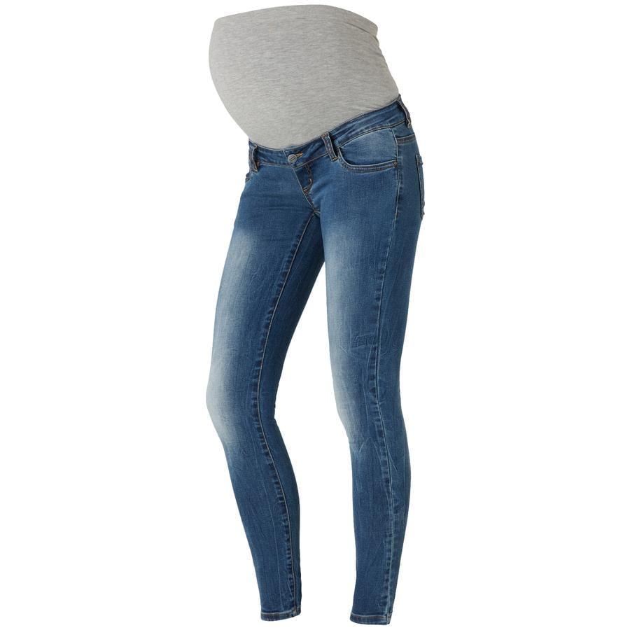 mama licious Maternity Jeans MLNILO Slim blue Längd: 34