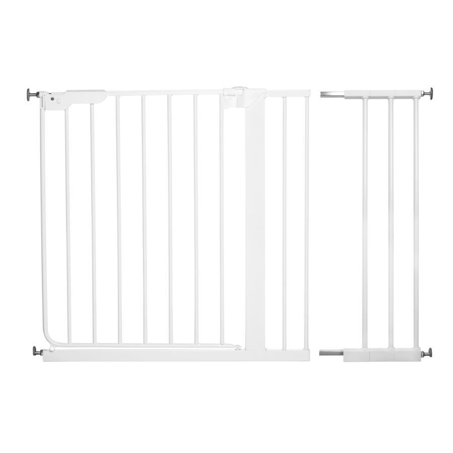 Baby Dan Danamic Indikator Puerta de seguridad blanca incluye 3 extensiones