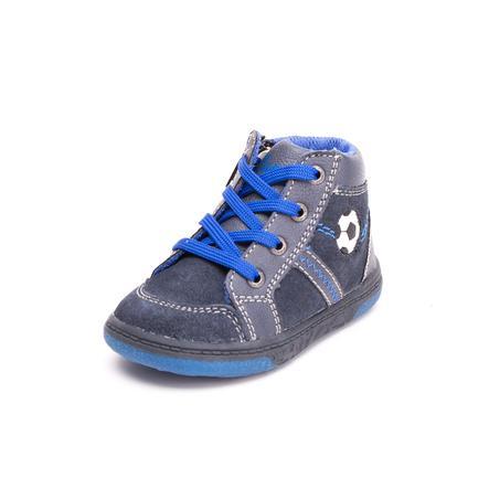 Lurchi Boys Zapato de aprendizaje Bingi navy (mediano)