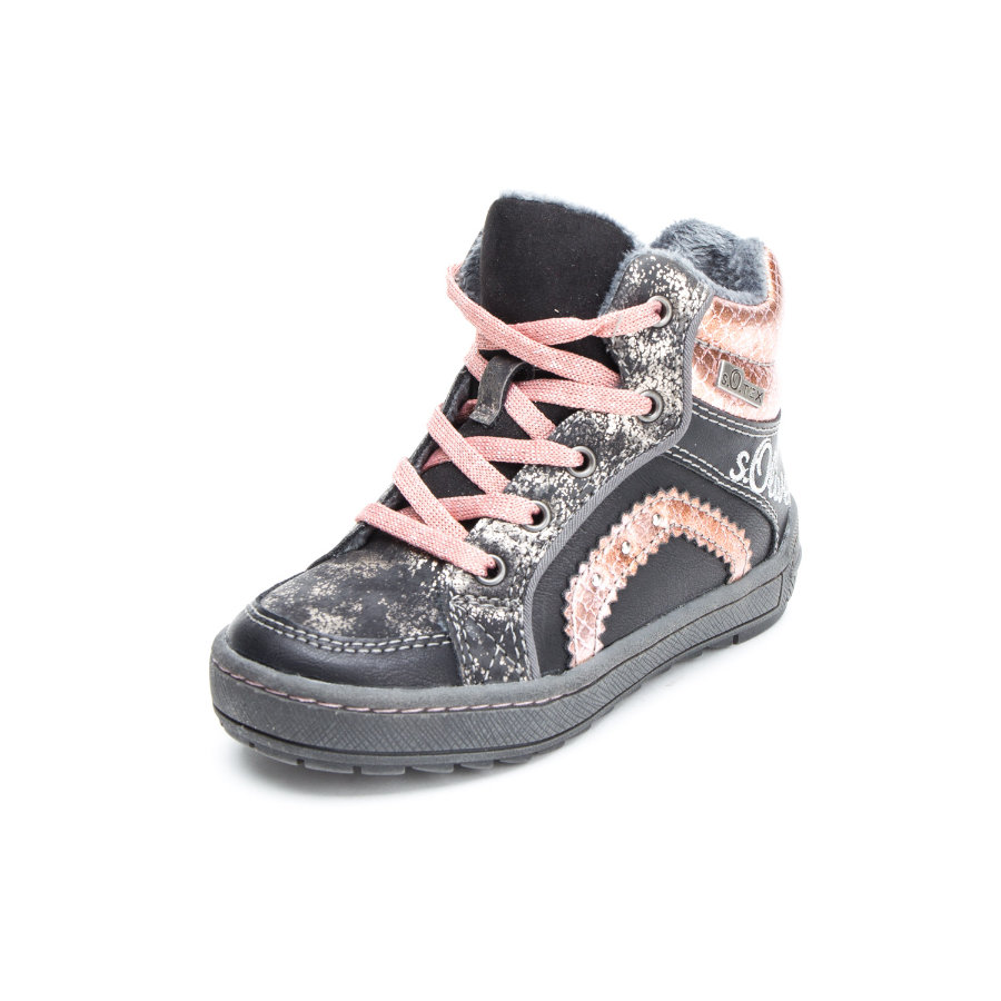 s.Oliver shoes Girls Halbschuhe black