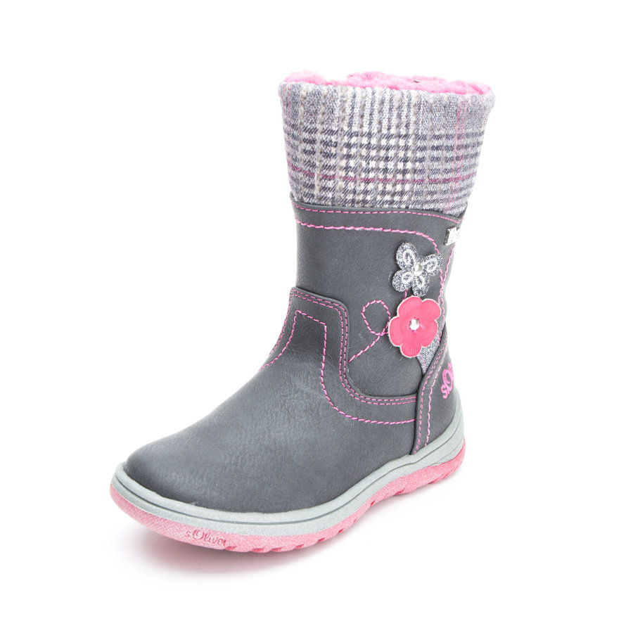 s.Oliver shoes Girls Stiefel grey