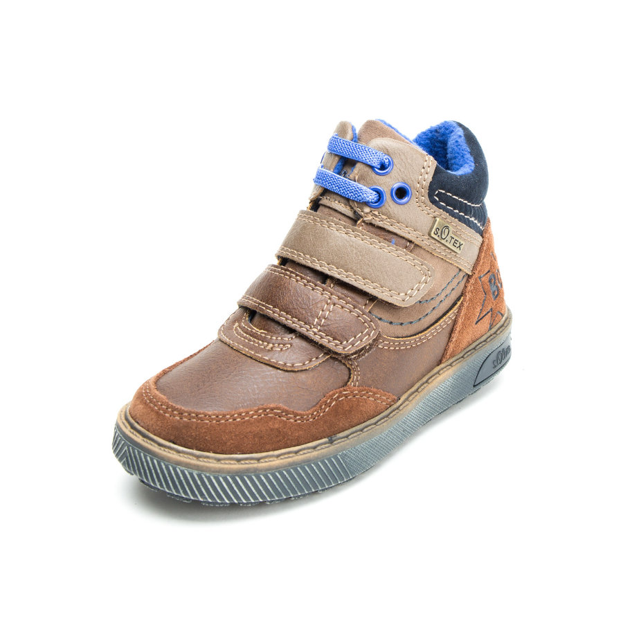 s.Oliver scarpe scarpe Boys basse scarpe marroni