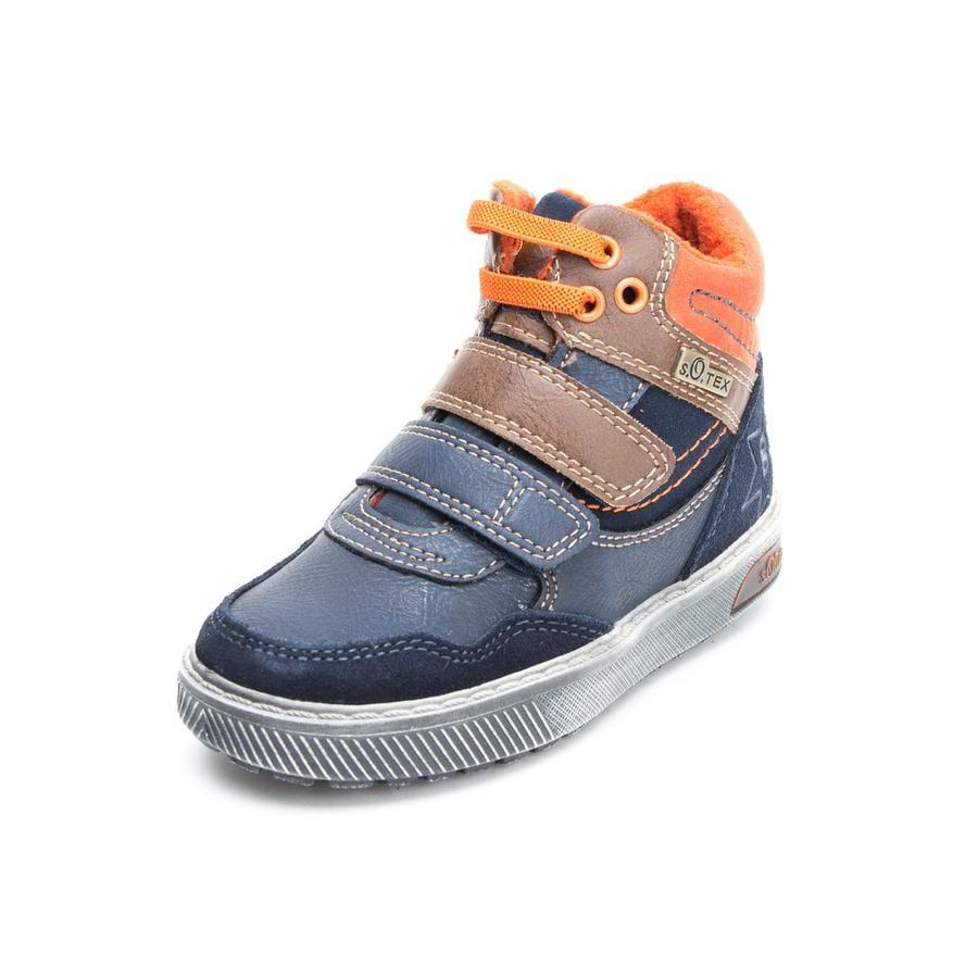 s. Olive r boty Chlapecké nízké boty navy