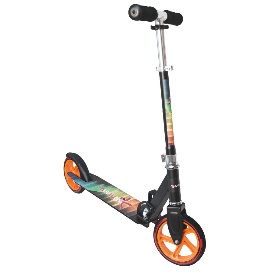 AUTHENTIC SPORTS Aluminium Sparkcykel Scooter Muuwmi 180mm OR