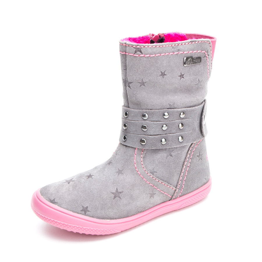 s.Oliver shoes Girls Stiefel pepper-grey