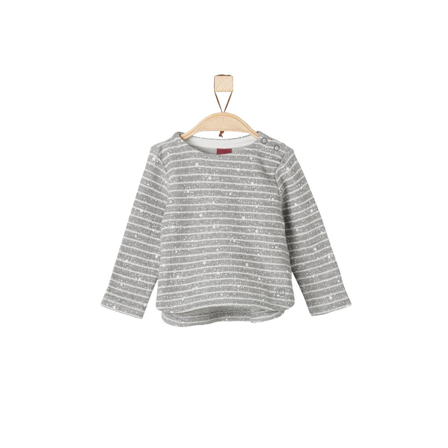 s.Oliver Girls Sweatshirt grey melange