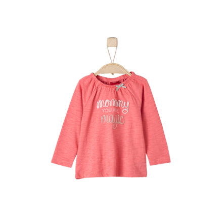 s.Oliver Girls Longsleeve light red