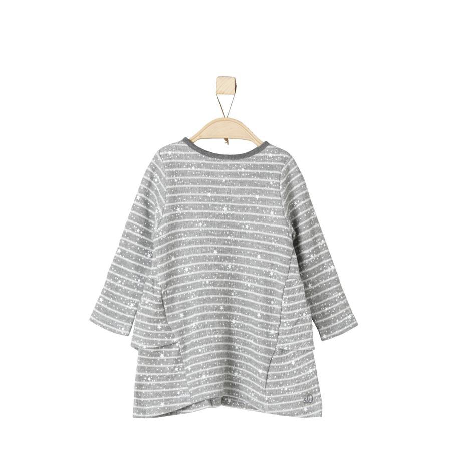 s.Oliver Girl robe s gris melange