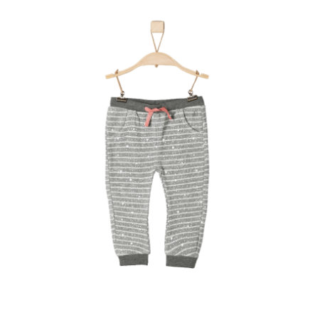 s.Oliver Girls Leggings grey melange