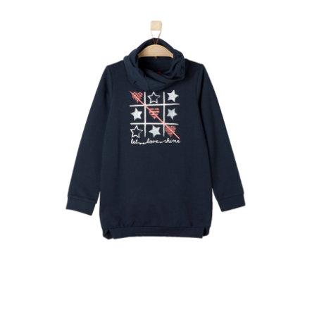 s.Oliver Girl s Sweatshirt bleu foncé