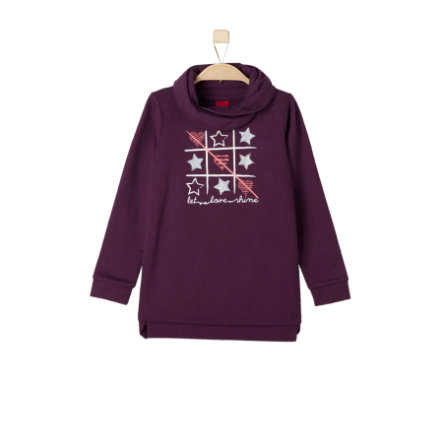 s.Oliver Girls Sweatshirt dark pink