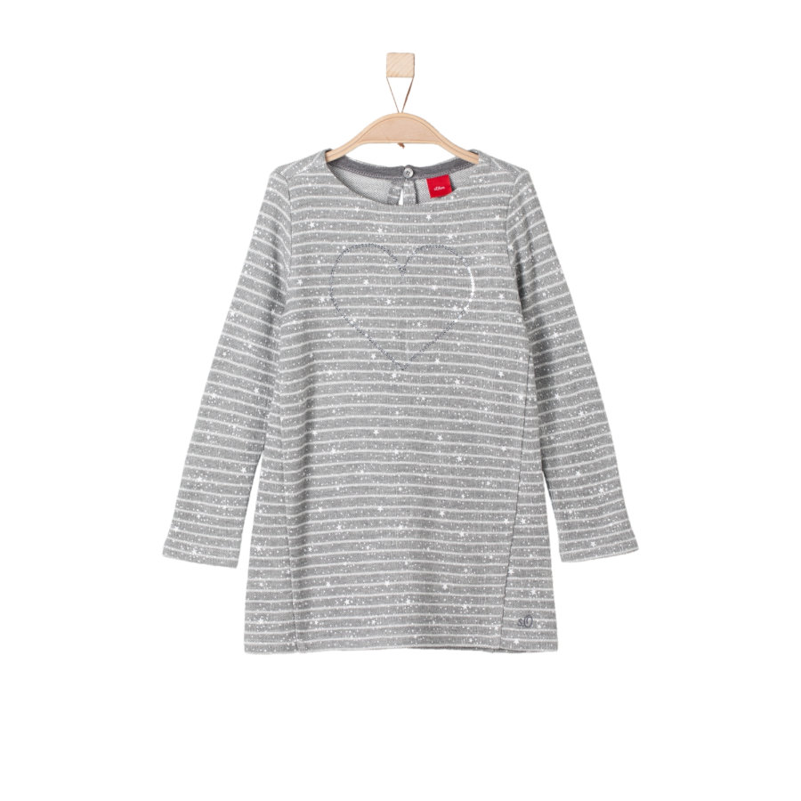 s.Oliver Girls Kleid grey melange