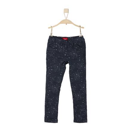 s.Oliver Girl s pantalon donkerblauw slank
