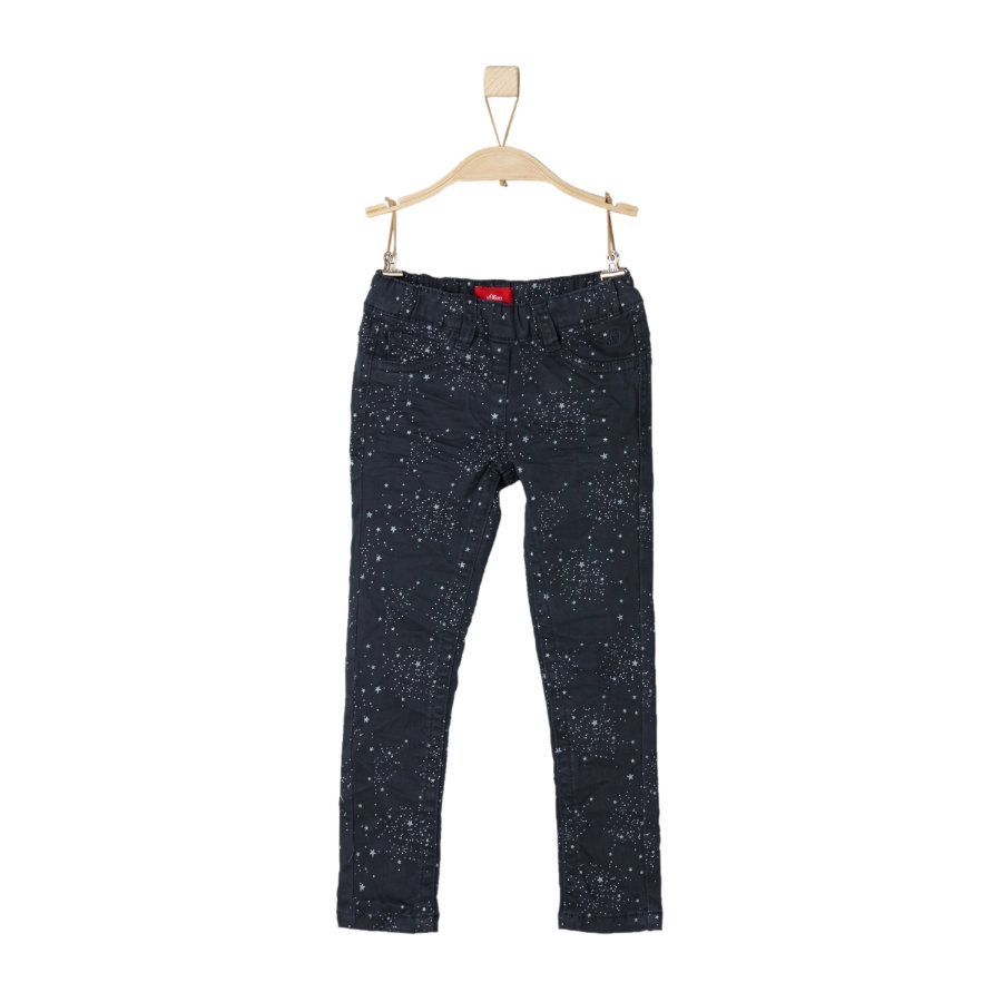 s.Oliver Girls Hose dark blue slim
