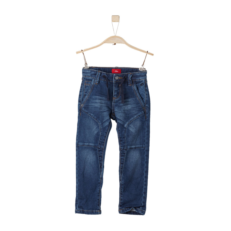 s.Oliver Jeans blue denim stretch regular