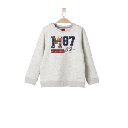 s.Oliver Boys Sweatshirt nature melange