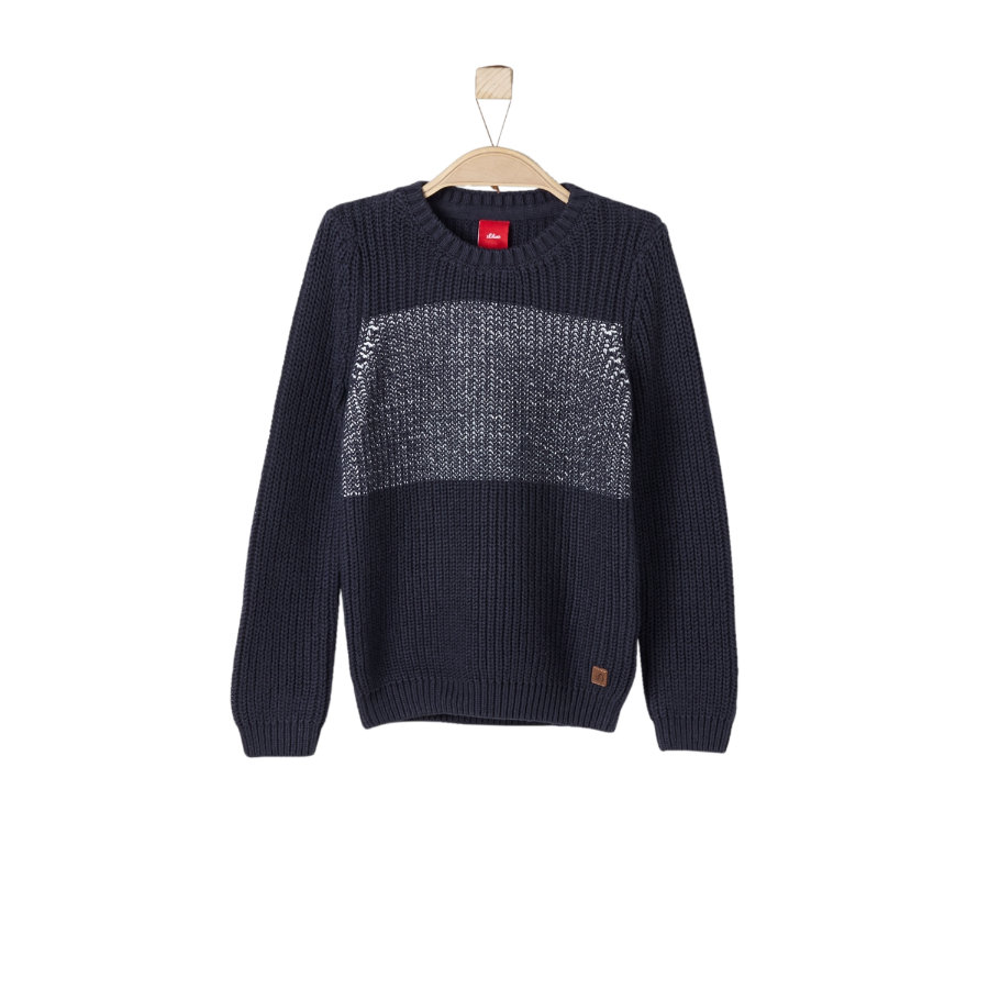 s.Oliver Boys Pullover dark blue