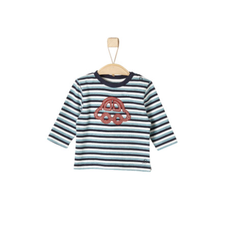 s.Oliver Boys Longsleeve dark blue stripes