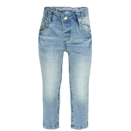 LIEF! Girls Jeans washed blue denim