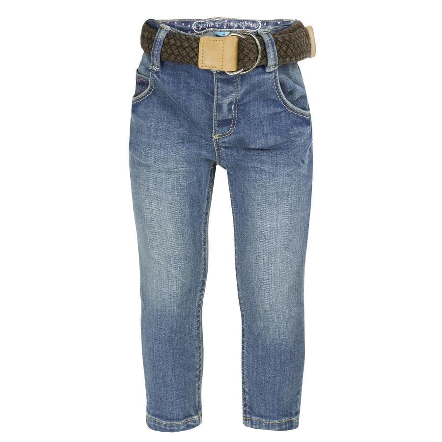 ran ! Girl s Jeans blue denim