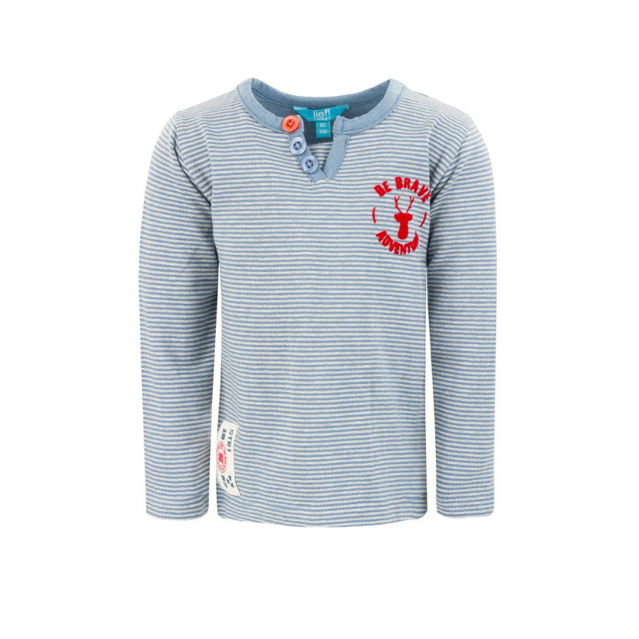 lief! Boys Longsleeve light blue