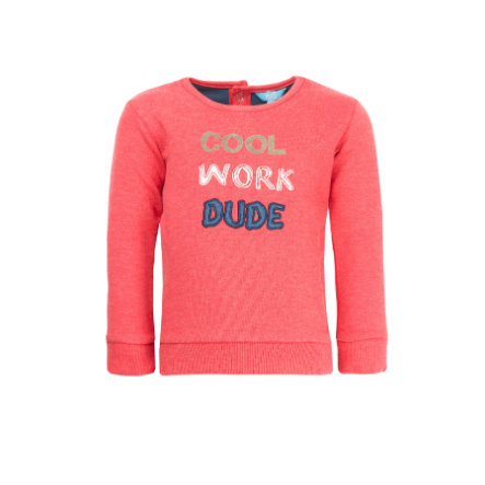 uciekła! Boys Bluza bluza czerwony melange
