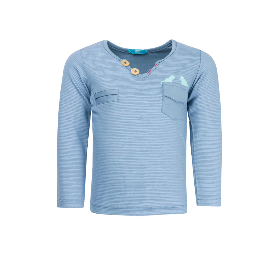 lief! Boys Longsleeve blue shadow