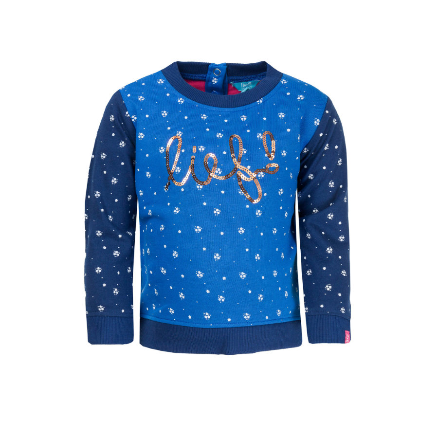 ran ! Girl s Sweat-shirt bleu
