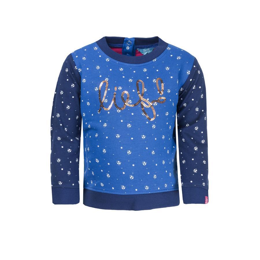 uciekła! Girl Sweatshirt blue