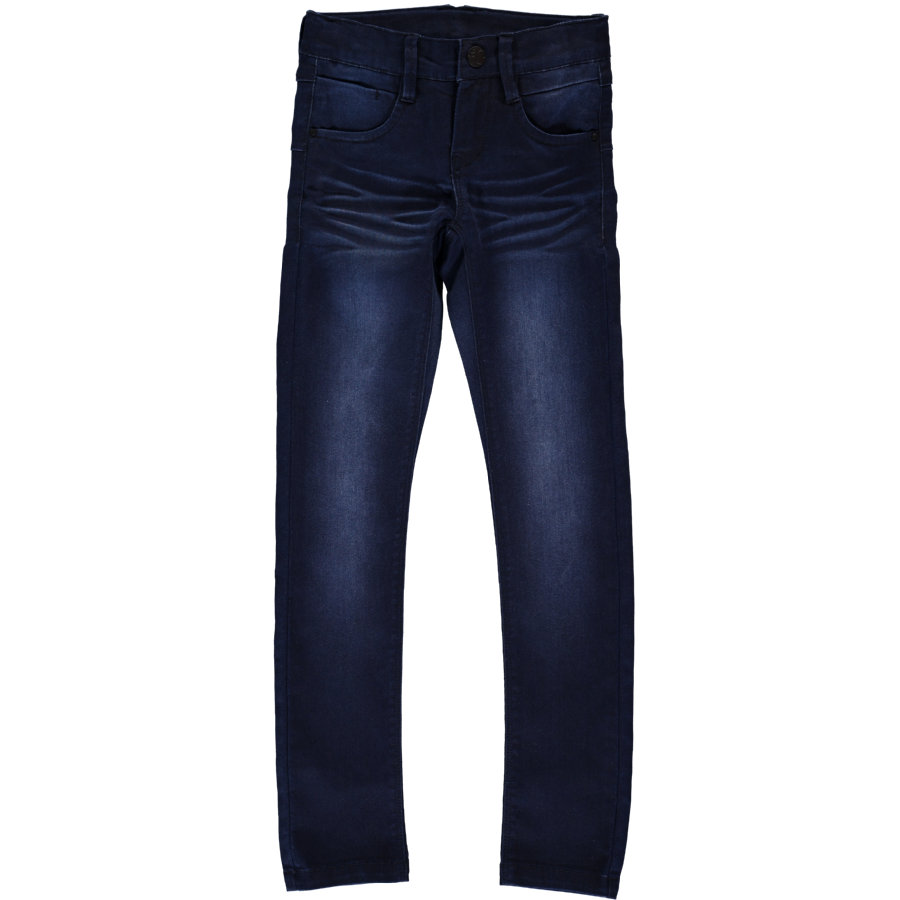 name it Girls Spodnie Jeans Tu dark Denim
