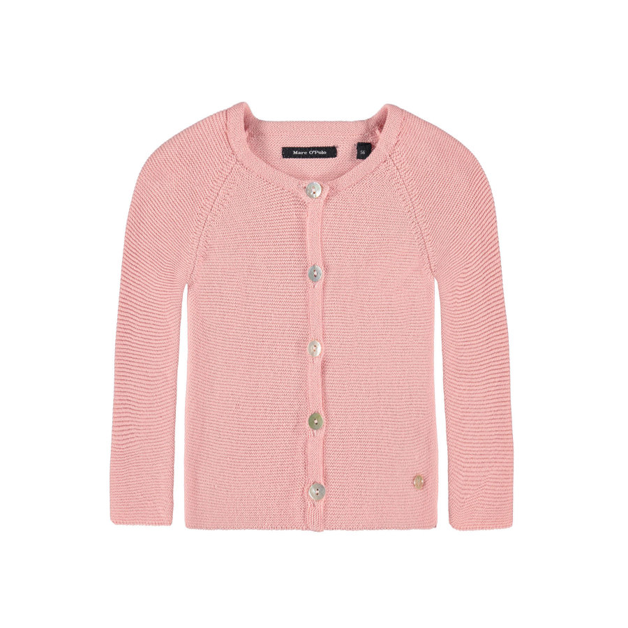 Marc O'Polo Girls Strickjacke silver pink