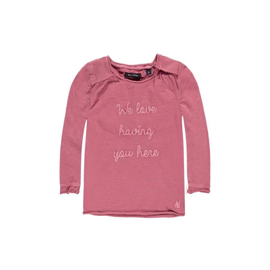 Marc O'Polo Girls  Longsleeve baroque rose