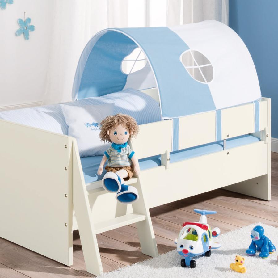 PAIDI Spielzelt hellblau / weiß
