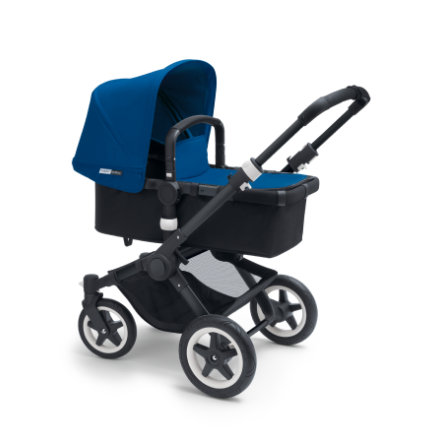 bugaboo Basis Buffalo Plus Black/Black inkl. Bekleidungsset Royal Blue