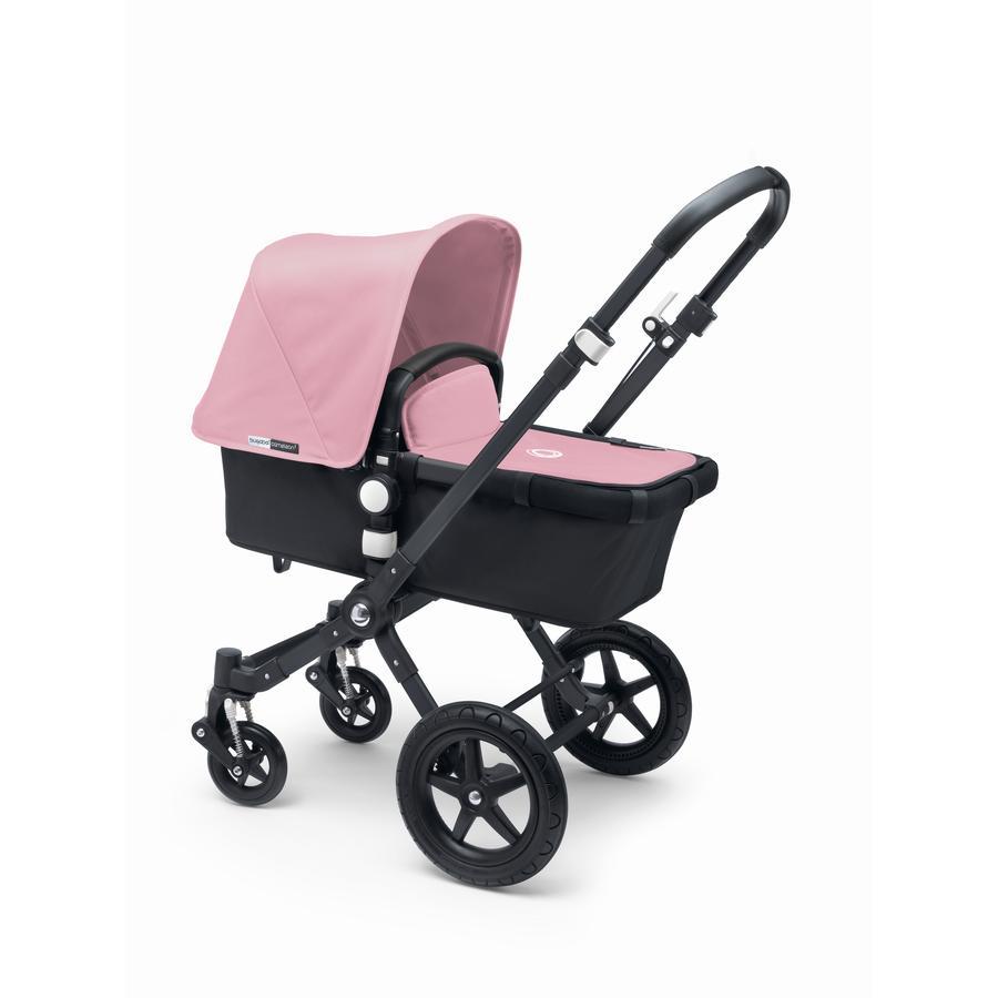 bugaboo Kinderwagen Cameleon 3 Plus Black/Black inkl. Bekleidungsset Soft Pink