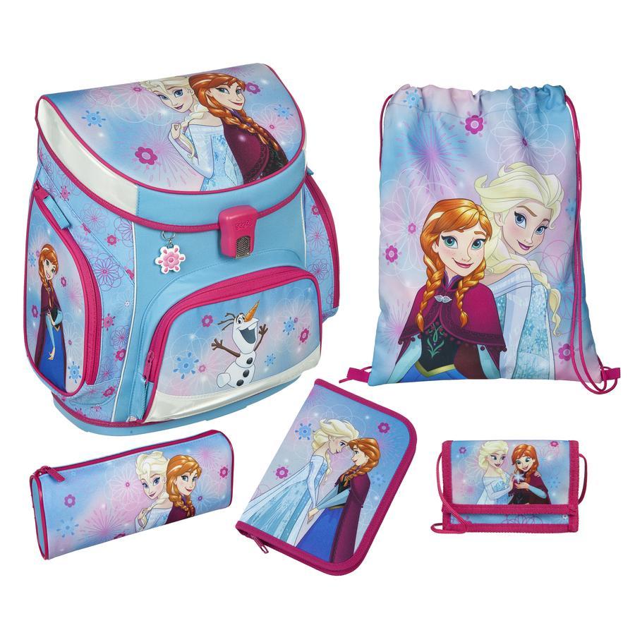 SCOOLI Campus Plus Zaino-Set, 5-pezzi - Disney Frozen