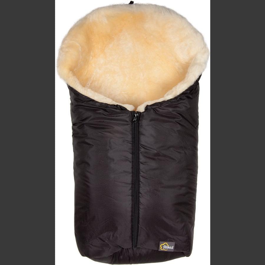 Fillikid Śpiworek zimowy do fotelika samochodowego lub gondolki Elbrus, kolor czarny