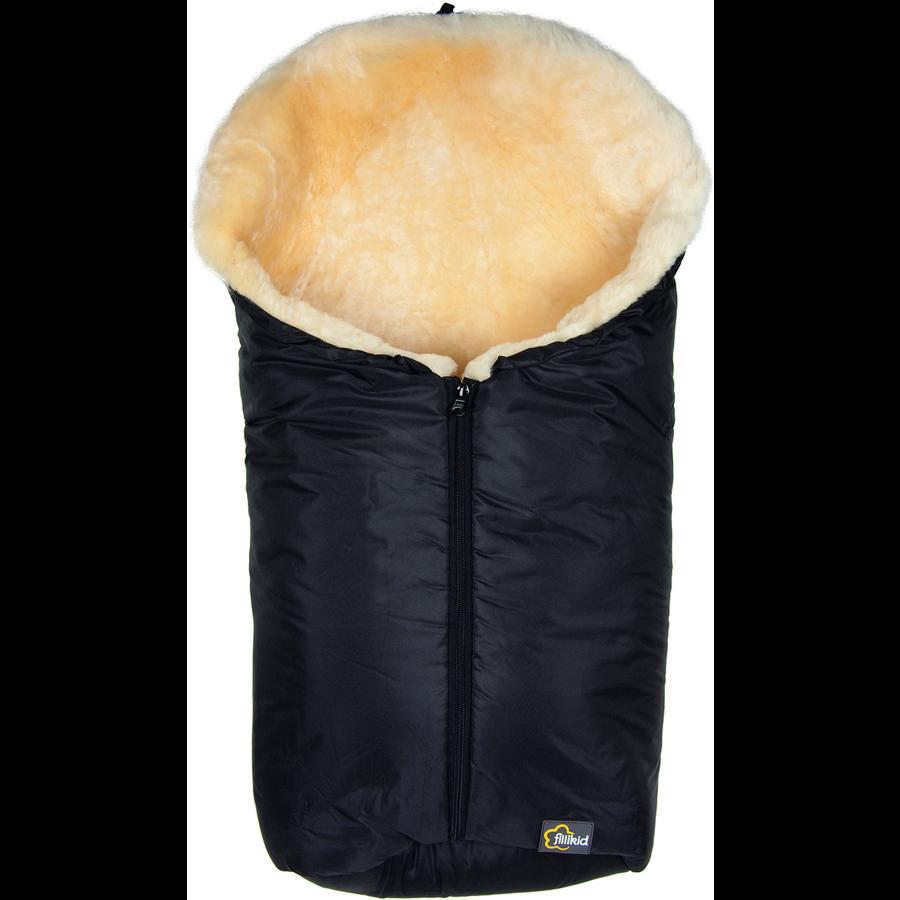 fillikid Winterfußsack Elbrus Gr. 0 schwarz