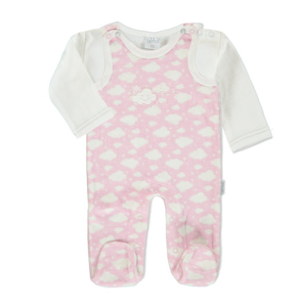 LITTLE Wolke Strampler Set rose