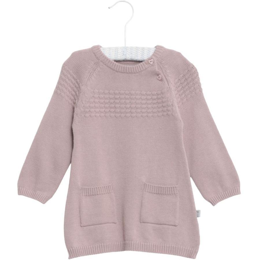 WHEAT Sailor - Robe tricotée en poudre rose