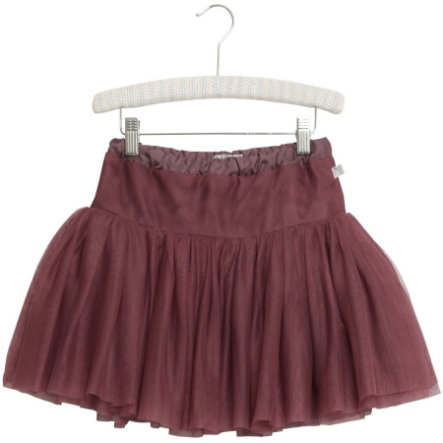 Wheat Kjol Tulle darklavender